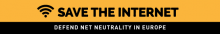 Save the Internet kampagnebanner